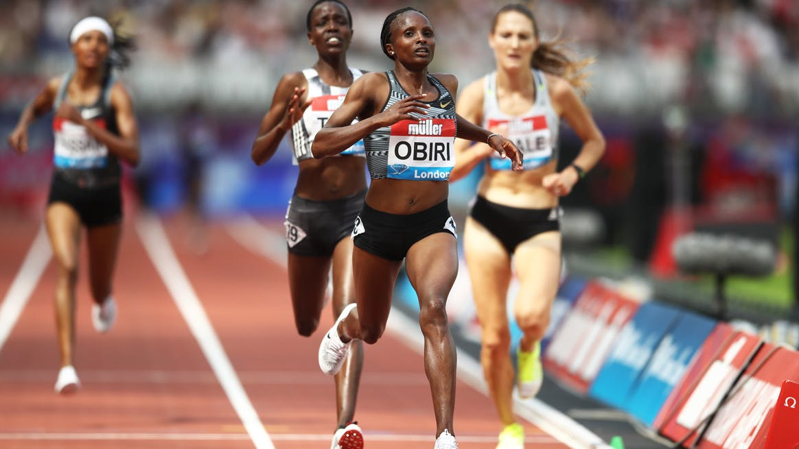 Sifan Hassan verbetert ER in Diamond League Londen