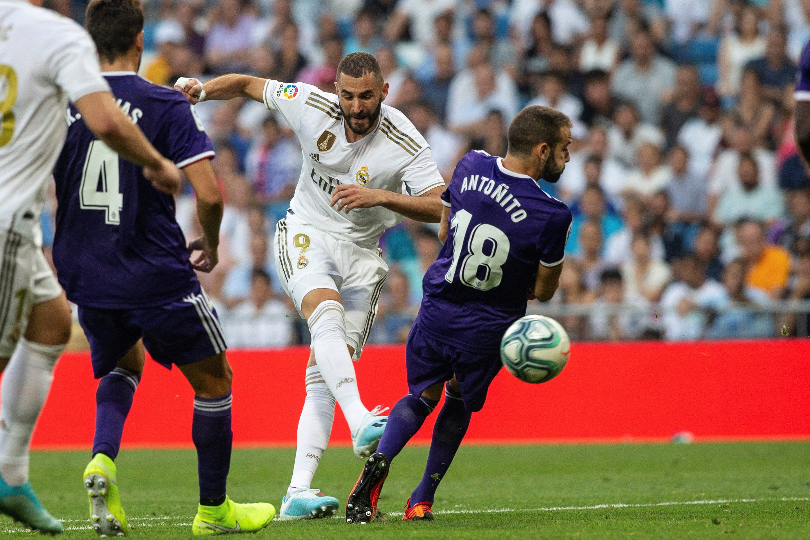 Samenvatting Real Madrid - Real Valladolid (La Liga)